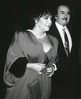 Elizabeth Taylor &amp; Adnan Khashoggi 1981<br /> Photo By John Barrett-PHOTOlink.net / MediaPunch