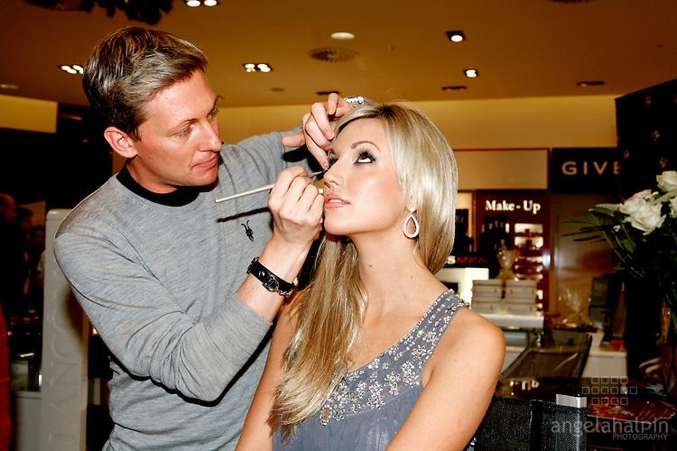 Debenhams Cosmetic Launch, Henry St Dublin.Rosanna Davidson officially opening Debenhams of Henry, cosmetics hall.