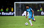 SHENZHEN - JULY 28: Manchester City striker Sergio Aguero during the match between Borussia Dortmund vs Manchester City FC at the 2016 International Champions Cup China match at the Shenzhen Stadium on 28 July 2016 in Shenzhen, China. (Photo by Power Sport Images/Getty Images)