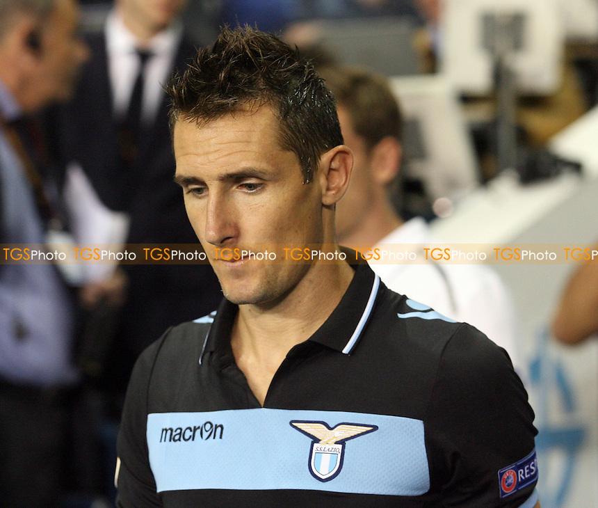 Miroslav Klose of Lazio - Tottenham vs Lazio at the White Hart Lane  Stadium  - 20/09/12 - MANDATORY CREDIT: Dave Simpson/TGSPHOTO - Self billing applies where appropriate - 0845 094 6026 - contact@tgsphoto.co.uk - NO UNPAID USE.