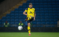 John Mousinho of Oxford United during the The Leasing.com Trophy match between Oxford United and Norwich City U21 at the Kassam Stadium, Oxford, England on 3 September 2019. Photo by Andy Rowland.