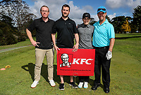 Team KFC during the Anita Boon Pro-Am, North Shore Golf Course, Auckland, New Zealand Friday 22  September 2017.  Photo: Simon Watts/www.bwmedia.co.nz