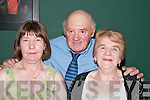 DANCE: At the Jimmy Buckley dance night in The Golf Hotel, Ballybunion, on Friday, were Mary OConnor, Castleisland, and Gretta OMahony, Annascaul, with Mike Hogan, Ballybunion..