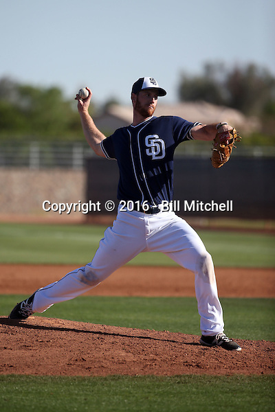 Michael Kelly - San Diego Padres 2016 spring training (Bill Mitchell)