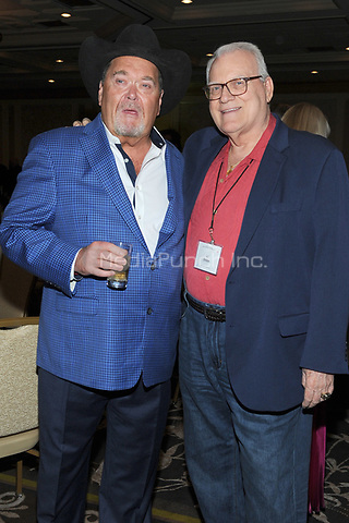 LAS VEGAS, NV - MAY 02: Jim Ross and J.J. Dillon at the 2018 Cauliflower Alley Club Awards Banquet And Dinner at the Gold Coast Hotel & Casino in Las Vegas, Nevada on May 2, 2018. Credit: George Napolitano/MediaPunch