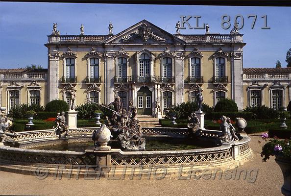 Interlitho, LANDSCAPES, photos, palacio de queluz(KL8071,#L#)