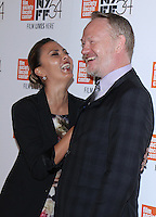 NEW YORK, NY-October 03:Allegra Riggio, Jared Harris  at 54th NewYork Film Festival premiere of Certain Women at Alice Tully Hall at Lincoln Center in New York.October 03, 2016. Credit:RW/MediaPunch
