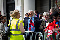 Watford, 07/06/2017. Documenting the last day of Jeremy Corbyn and the Labour Party electoral Campaign on the eve of the General Election 2017: Watford.
