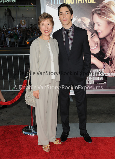 Justin Long & mom at the Warner Bros. Pictures' L.A. Premiere of Going the Distance held at The Grauman's Chinese Theatre in Hollywood, California on August 23,2010                                                                               © 2010 Hollywood Press Agency
