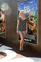 "LOS ANGELES - DEC 11:  Anna Faris arrives at the ""Yogi Bear 3-D"" Premiere at The Village Theater on December 11, 2010 in Westwood, CA."