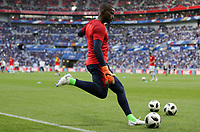 Lyon, France - Saturday June 09, 2018: Bill Hamid during an international friendly match between the men's national teams of the United States (USA) and France (FRA) at Groupama Stadium.