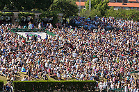 England, London, Juli 06, 2015, Tennis, Wimbledon, Spectators on Murray mountain<br /> Photo: Tennisimages/Henk Koster