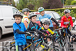 At  the start of the Castleisland Day Care Centre Charity Cycle conjunction with Currow Cycling Club on Sunday