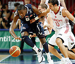 Kevin DURANT (USA)  fights for the ball with Kerem TUNCERI (Turkey) during the Final World championship basketball match against Turkey in Istanbul, Turkey-USA, Turkey on Sunday, Sep. 12, 2010. (Novak Djurovic/Starsportphoto.com) .