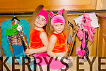 Chloe McMahon and Alisha O Sullivan from Cassie Leens dance school at the Disco Dancing Championships at the Brandon Hotel on Saturday