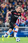 Julian Baumgartlinger of Bayer 04 Leverkusen in action during their 2016-17 UEFA Champions League Round of 16 second leg match between Atletico de Madrid and Bayer 04 Leverkusen at the Estadio Vicente Calderon on 15 March 2017 in Madrid, Spain. Photo by Diego Gonzalez Souto / Power Sport Images