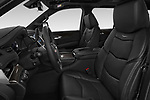 Front seat view of 2019 Cadillac Escalade Platinum 5 Door SUV Front Seat  car photos