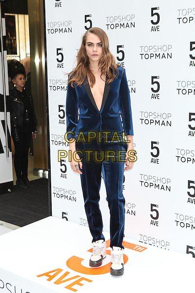 NEW YORK - November 5:  Cara Delevingne attends the Topshop Topman New York City Flagship Grand Opening on November 5, 2014 in New York City. <br /> CAP/MPI/MPI99<br /> &copy;MPI99/MPI/Capital Pictures