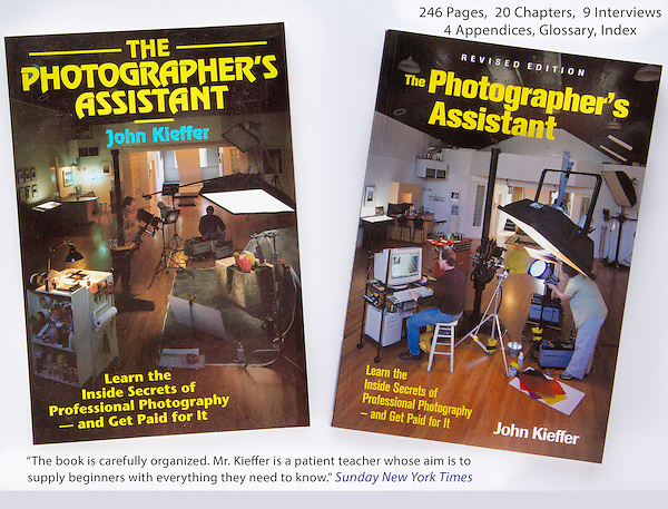 John wrote: &quot;The Photographer's Assistant&quot; twice. Before and after the digital revolution.<br />