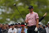 Justin Rose (ENG) on the 6th tee during the 2nd round at the PGA Championship 2019, Beth Page Black, New York, USA. 18/05/2019.<br /> Picture Fran Caffrey / Golffile.ie<br /> <br /> All photo usage must carry mandatory copyright credit (&copy; Golffile | Fran Caffrey)