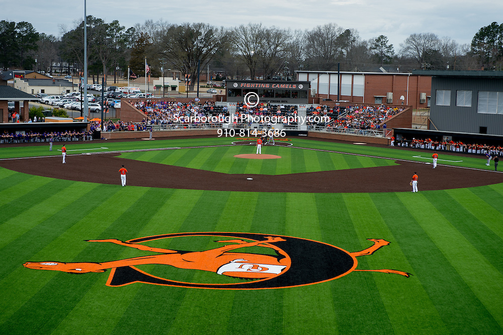directions to campbell university baseball field