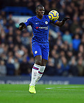 Kurt Zouma of Chelsea during the Premier League match at Stamford Bridge, London. Picture date: 30th November 2019. Picture credit should read: Robin Parker/Sportimage