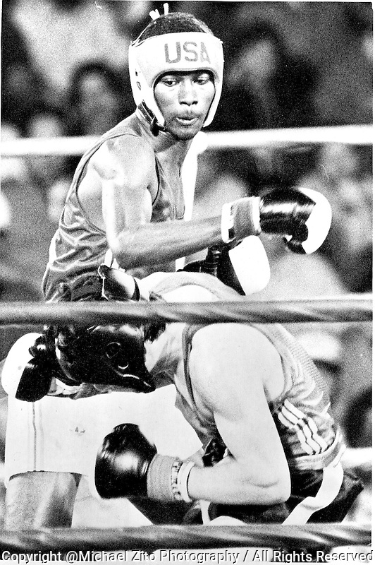 Los Angeles, 1984: USA Olympic Boxer Mark Breland