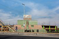 Arquitectura Libre, on  the outskirts of Toluca comming from Nevado de Toluca, Estado de Mexico, Mexico