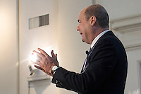 Nicola Zingaretti.Roma 07/02/2013 ll candidato Presidente alla Regione Lazio per il Partito Democratico alle Elezioni 2013 presenta il Programma elettorale..Photo Samantha Zucchi Insidefoto
