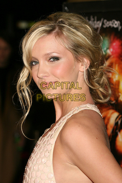 """KATIE CASSIDY.""""Black Christmas"""" - Los Angeles Premiere at Mann's Chinese Six,Hollywood, California , USA..December 19th, 2006.headshot portrait cream sheer beige polka dot .CAP/ADM/BP.©Byron Purvis/AdMedia/Capital Pictures"""