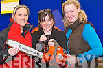 CHAINSAW: Martina Coffey,Jane Allen and Veronica White(Tralee) testing out one of the many Chainsaws on display in the Kerry Home and Garden Show on the Dan Spring, Road, Tralee on Saturday.   Copyright Kerry's Eye 2008