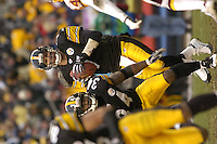 28 November 2004:  Ben Roethlisberger (7).<br />