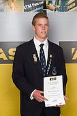 All Rounder category winner Carl Perry from Mt Albert Grammar school. ASB College Sport Young Sportperson of the Year Awards 2008 held at Eden Park, Auckland, on Thursday November 13th, 2008.