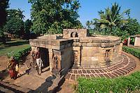 Indien, Orissa,  Hirapur bei Bhubaneswar, tantrischer Tempel Yogiri