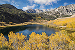 An image of North Lake and fall colors in the Sierra mountains.
