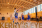 Mounthawk v Castleisland in the U-19 Munster Basketball final in Monthawk Gym on Monday.