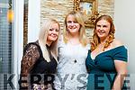 Greta Turner, Jacinta O'Sullivan and Katie Maher enjoying the evening in Bella Bia on Saturday.