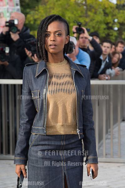 Kelela attend Louis Vuitton Show Front Row - Paris Fashion Week  2016.<br /> October 7, 2015 Paris, France<br /> Picture: Kristina Afanasyeva / Featureflash