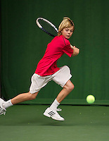 20131201,Netherlands, Almere,  National Tennis Center, Tennis, Winter Youth Circuit, Liam Liles<br /> Photo: Henk Koster