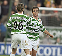 06/11/2005         Copyright Pic : James Stewart.File Name : sct_jspa03 falkirk v celtic.SEAN MALLONEY IS CONGRATULATED BY AIDEN MCGEADY AFTER HE SCORES CELTIC'S FIRST.Payments to :.James Stewart Photo Agency 19 Carronlea Drive, Falkirk. FK2 8DN      Vat Reg No. 607 6932 25.Office     : +44 (0)1324 570906     .Mobile   : +44 (0)7721 416997.Fax         : +44 (0)1324 570906.E-mail  :  jim@jspa.co.uk.If you require further information then contact Jim Stewart on any of the numbers above.........
