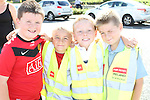 Kian Everitt, Cian Reynolds, Jack Dawson and Jacob Matthews at the Garda Station Open Day...Picture Jenny Matthews/Newsfile.ie