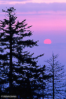 Sunrise, Great Smoky Mountains National Park, Tennessee.