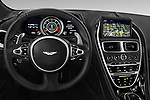 Car pictures of steering wheel view of a 2016 Astonmartin DB11 Base 2 Door Coupe
