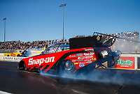 Jul 28, 2017; Sonoma, CA, USA; NHRA funny car driver Cruz Pedregon during qualifying for the Sonoma Nationals at Sonoma Raceway. Mandatory Credit: Mark J. Rebilas-USA TODAY Sports