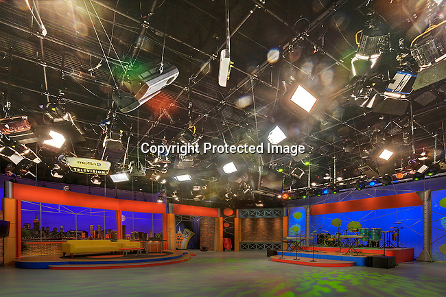 Studio B at Mega TV