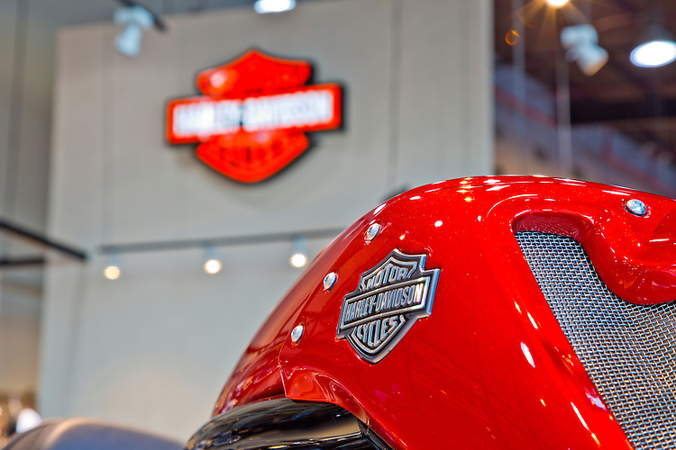 Photos of Harley Davidson Motorbike