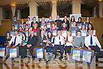 AWARDS: Winners of the Lee Strand-Kerry Garda Youth Awards on Friday night in Ballyroe Heights Hotel, Tralee.with members of Lee strand and and Garda........... . ............................... ..........