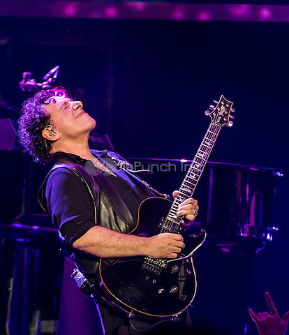 LAS VEGAS, NV - April 29: ***HOUSE COVERAGE*** Neal Schon pictured as JOURNEY performs night 1 of their residency at The Joint at Hard Rock Hotel & Casino in Las Vegas, NV on April 29, 2015. Credit: Erik Kabik Photography/MediaPunch