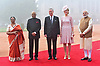 Queen Mathilde & King Philippe Visit India