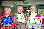 The Kerry Oxfam shop are calling on families to donate unwanted Christmas presents to help continue the good work of the charity oversees in 2011. .L-R Liz O' Regan, Shop Manager, Kathleen Rogers and Sheila Collins of Oxfam Ireland charity shop in Tralee.
